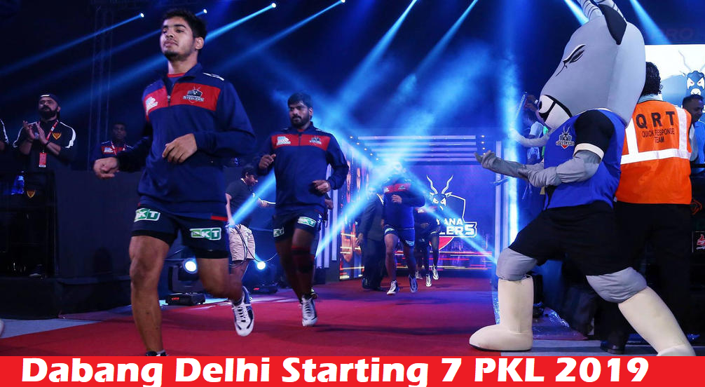 Prokabaddi 2019: Dabang Delhi KC Playing 7 Prediction