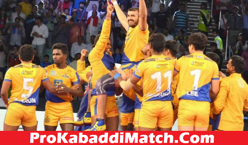 Prokabaddi 2019: Tamil Thalaivas Playing 7 Prediction