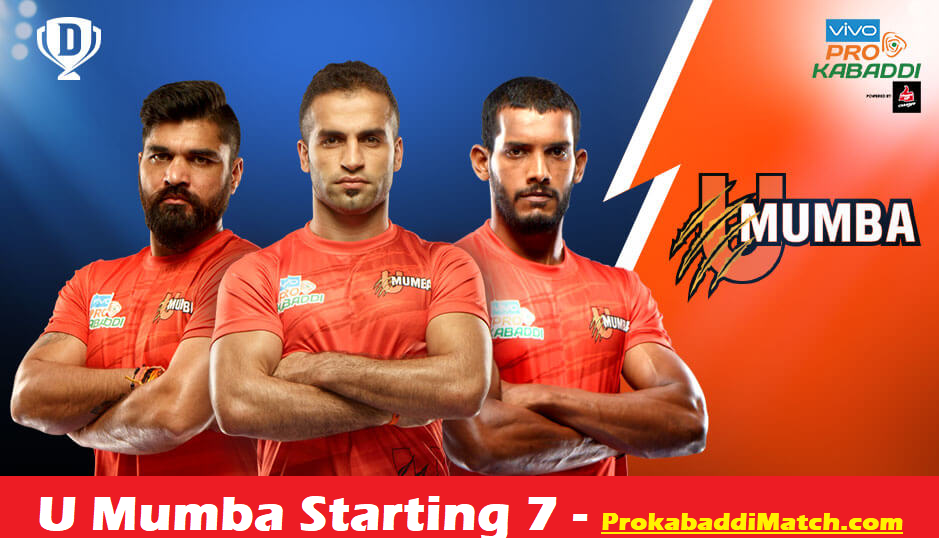 Prokabaddi 2019: U Mumba Playing 7 Prediction