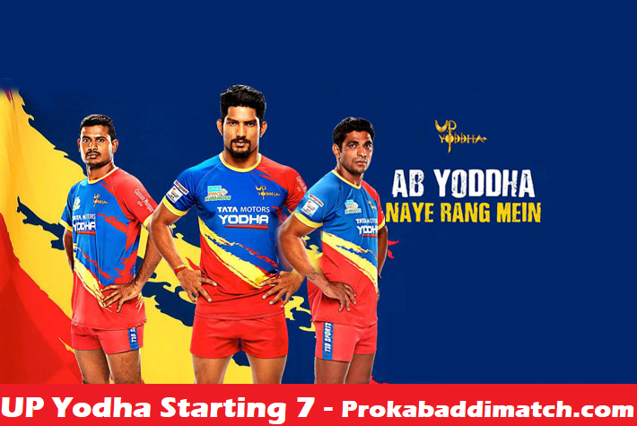 Prokabaddi 2019: UP Yodha Playing 7 Prediction