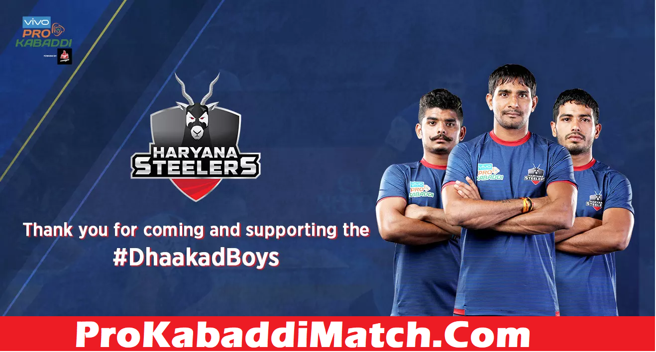 Prokabaddi 2019: Haryana Steelers Starting 7 Prediction