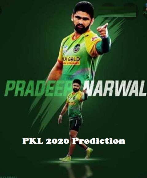 Pardeep Narwal Pro Kabaddi Stats PKL 2019, PKL 2020 Prediction