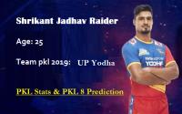 Shrikant Jadhav Pro Kabaddi stats