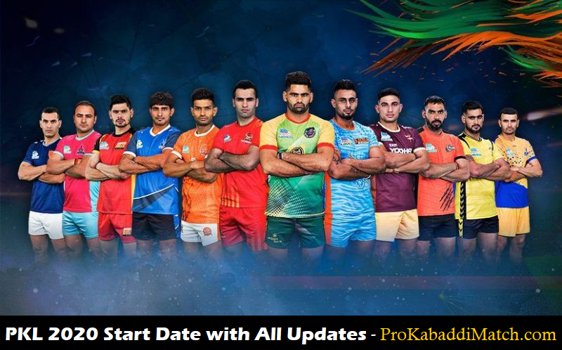 PKL 2020 Start Date Offical Update So Far – Pro Kabaddi News