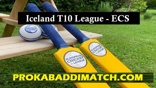ECS T10 – ICELAND Squads Dream11 Team Prediction Mega League, Small League