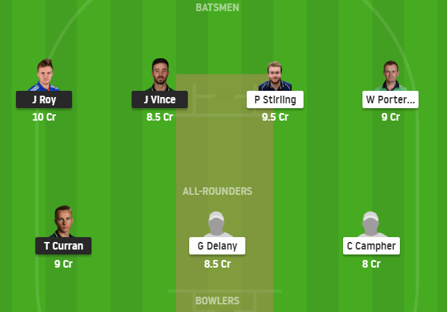 England Vs Ireland 2nd Odi Dream11 Fantasy cricket prediction preview – Mega League Grand League tips