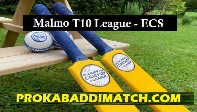 ECS T10 Malmo Dream11 Fantasy cricket Stats, Schedule Squad, Tips – Mega League, Grand League