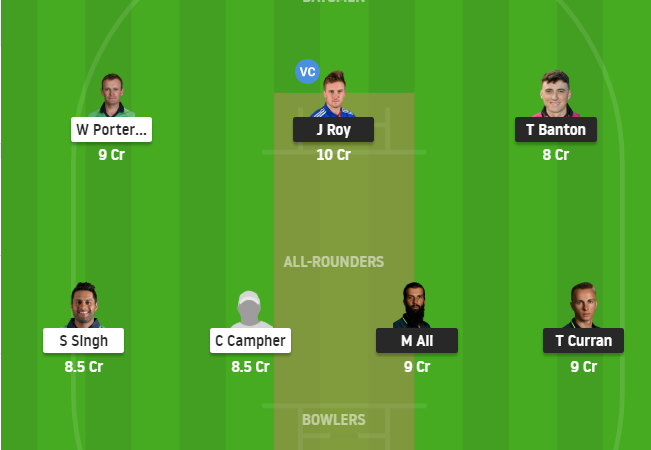 England Vs Ireland 3rd Odi Dream11 Fantasy cricket prediction preview – Mega League Grand League tips
