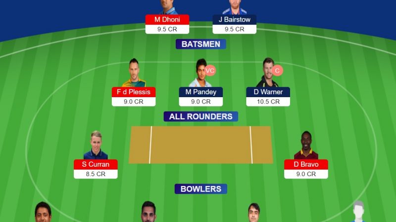 CSK Vs SRH Dream11 Prediction, Preview, Stats – Fantasy Cricket
