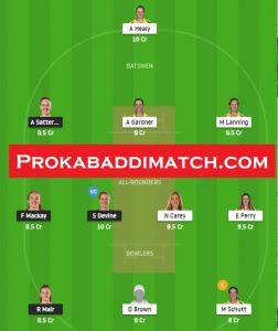 AUSw Vs NZw 3rd T20