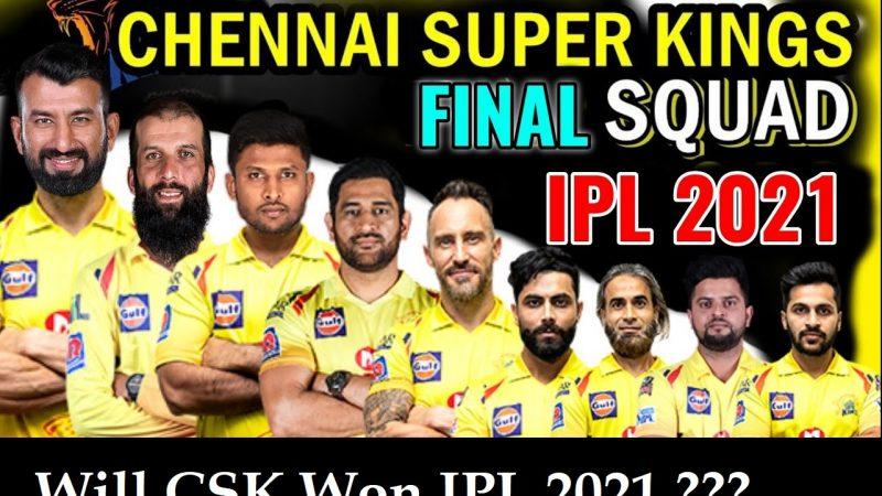 Chennai Super Kings Playing11 Prediction, CSK IPL 2021 Winning or Not – Analysis