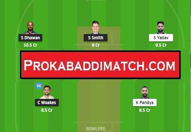 Delhi Capitals Vs Mumbai Indians IPL 2021 Dream11 Fantasy Cricket Tips