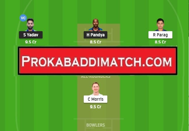 MI Vs RR Dream11 Prediction, Stats & Tips – IPL 2021 | Fantasy Cricket Preview