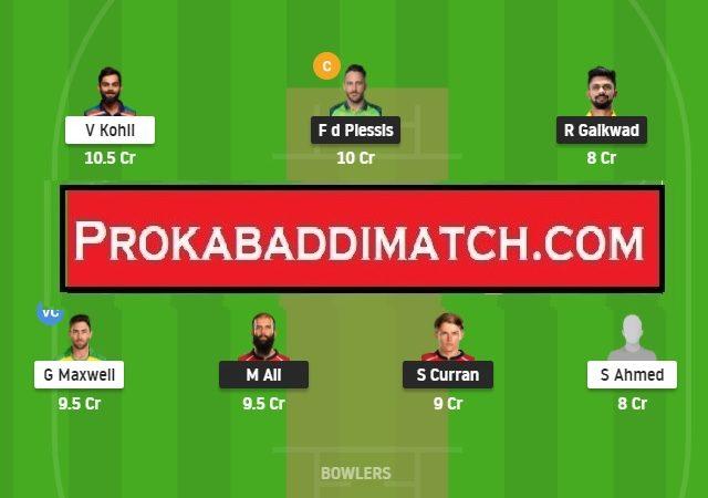 CSK Vs RCB  Dream11 Prediction, Stats & Tips – IPL 2021 | Fantasy Cricket Preview